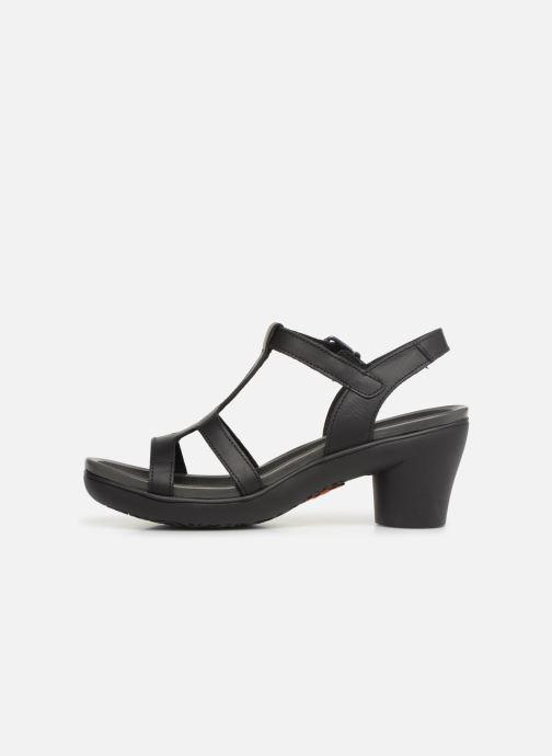 Sandales et nu-pieds Art Alfama 1473 Noir vue face