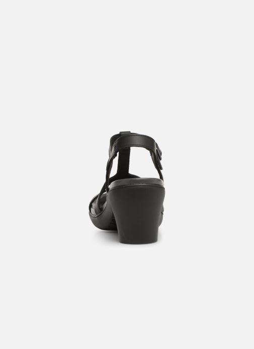 Sandales et nu-pieds Art Alfama 1473 Noir vue droite