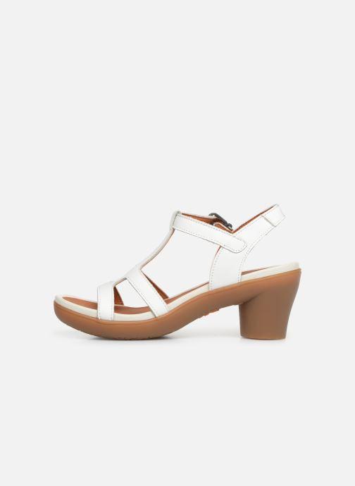 Sandales et nu-pieds Art Alfama 1473 Blanc vue face