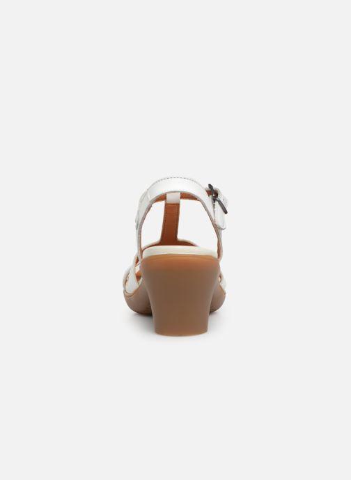 Sandales et nu-pieds Art Alfama 1473 Blanc vue droite