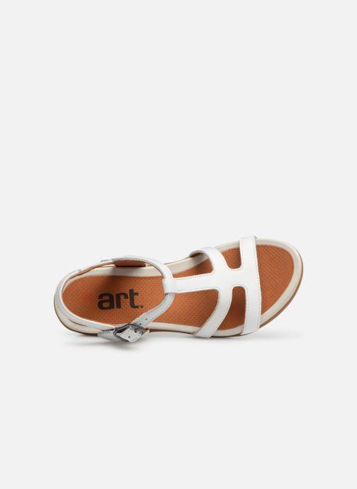 Sandalen Art Alfama 1473 weiß ansicht von links