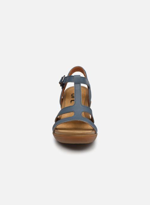 Sandales et nu-pieds Art Alfama 1473 Bleu vue portées chaussures