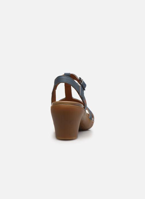 Sandales et nu-pieds Art Alfama 1473 Bleu vue droite