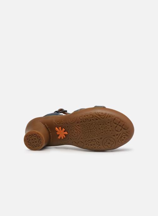 Sandales et nu-pieds Art Alfama 1473 Bleu vue haut