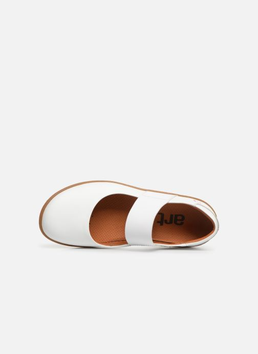 Ballet pumps Art Antibes 1426 White view from the left