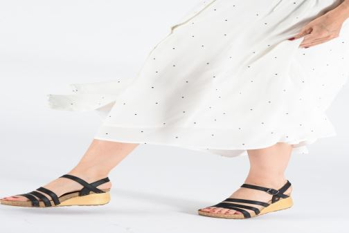 Sandals Art Borne 1327 Beige view from underneath / model view
