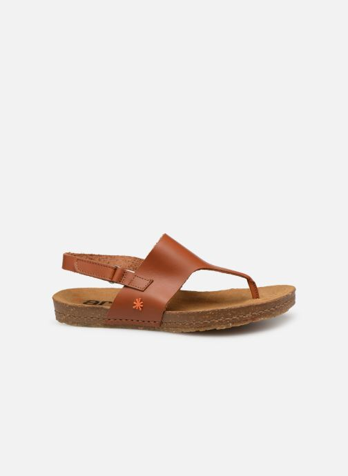 Sandales et nu-pieds Art Creta 1253 Marron vue derrière