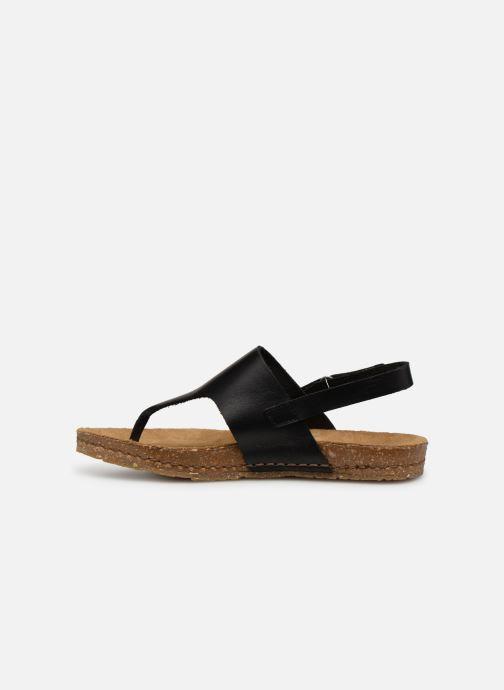 Sandals Art Creta 1253 Black front view