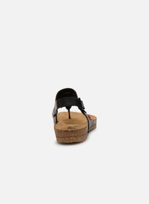 Sandalen Art Creta 1253 schwarz ansicht von rechts