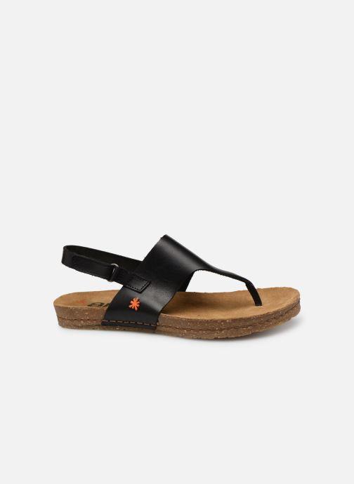 Sandalen Art Creta 1253 schwarz ansicht von hinten