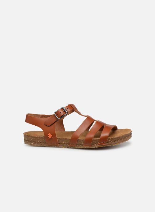 Sandales et nu-pieds Art Creta 1254 Marron vue derrière