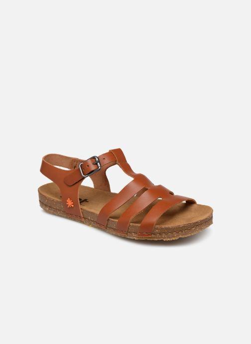 Sandales et nu-pieds Art Creta 1254 Marron vue détail/paire