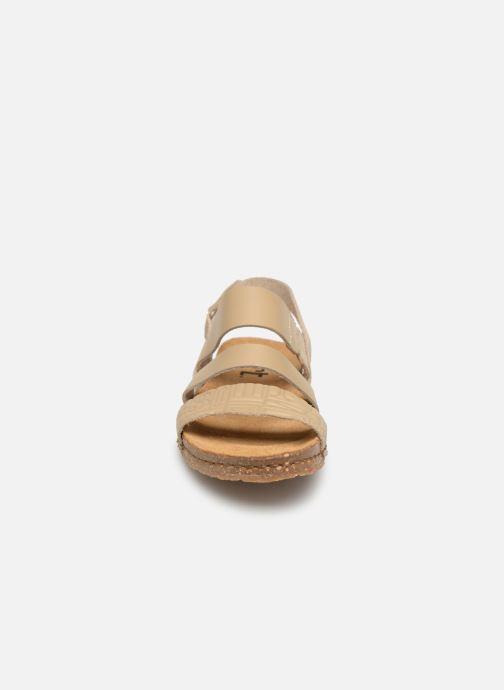 Sandales et nu-pieds Art Creta 1255 Beige vue portées chaussures