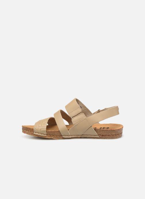Sandales et nu-pieds Art Creta 1255 Beige vue face
