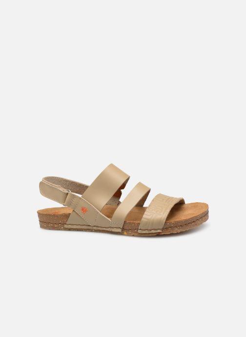 Sandales et nu-pieds Art Creta 1255 Beige vue derrière