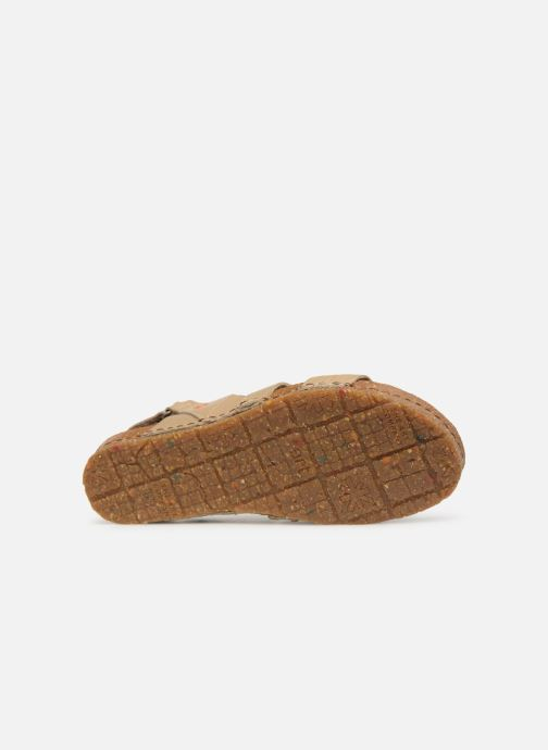 Sandales et nu-pieds Art Creta 1255 Beige vue haut