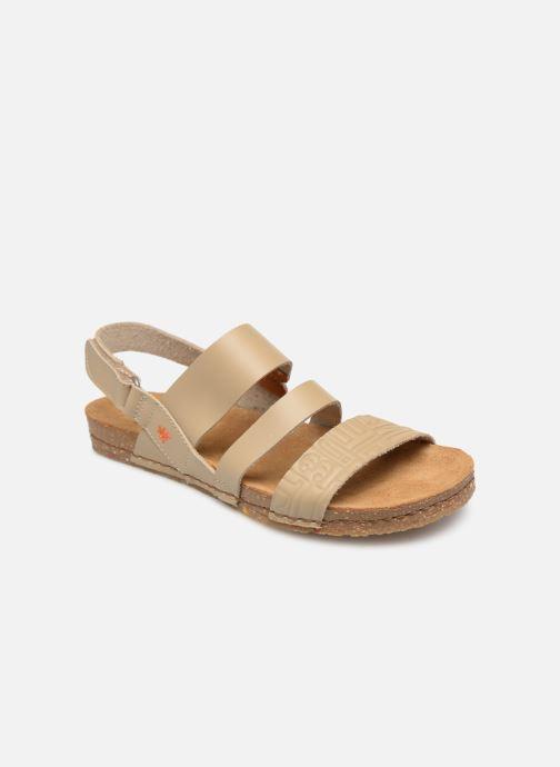 Sandales et nu-pieds Art Creta 1255 Beige vue détail/paire