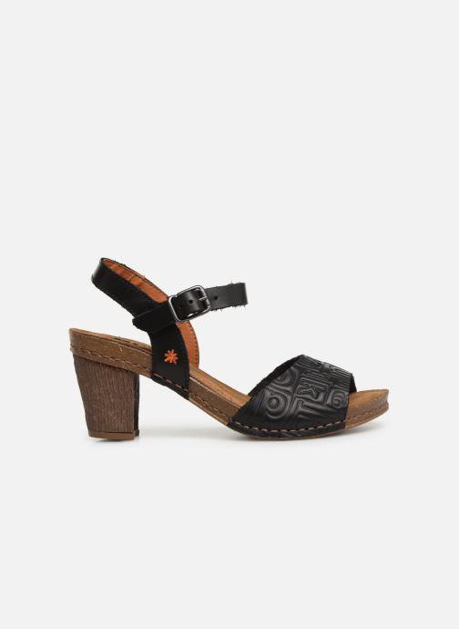 Sandales et nu-pieds Art I Meet 1273 Noir vue derrière