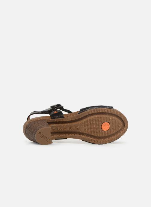 Sandales et nu-pieds Art I Meet 1273 Noir vue haut
