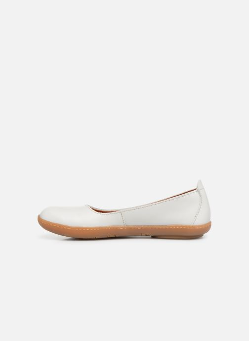 Ballerines Art Kio 1297 Blanc vue face