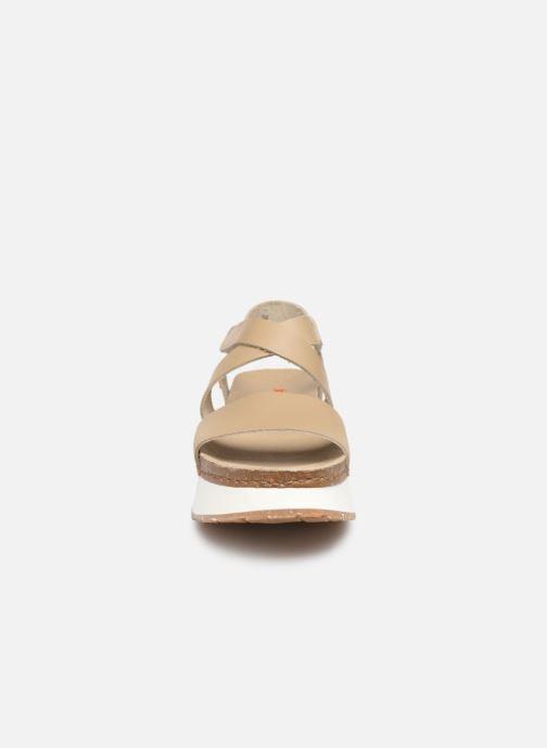Sandales et nu-pieds Art Mykonos 587 Beige vue portées chaussures