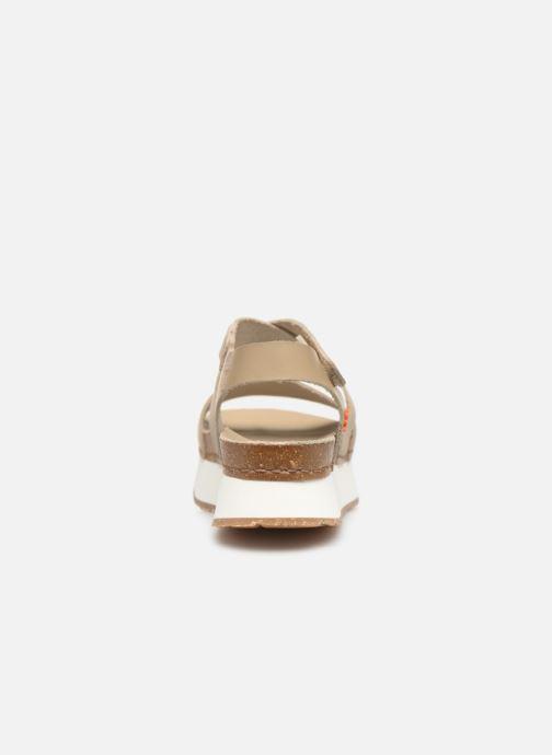 Sandales et nu-pieds Art Mykonos 587 Beige vue droite