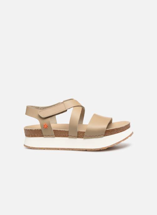 Sandales et nu-pieds Art Mykonos 587 Beige vue derrière