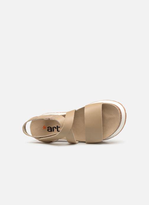 Sandales et nu-pieds Art Mykonos 587 Beige vue gauche