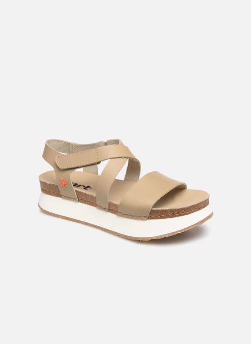 Sandales et nu-pieds Art Mykonos 587 Beige vue détail/paire