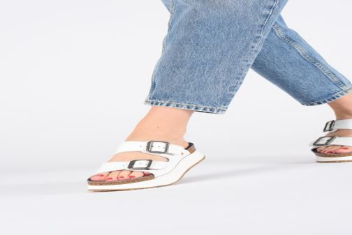 Mules & clogs Art Mykonos 1265 Black view from underneath / model view