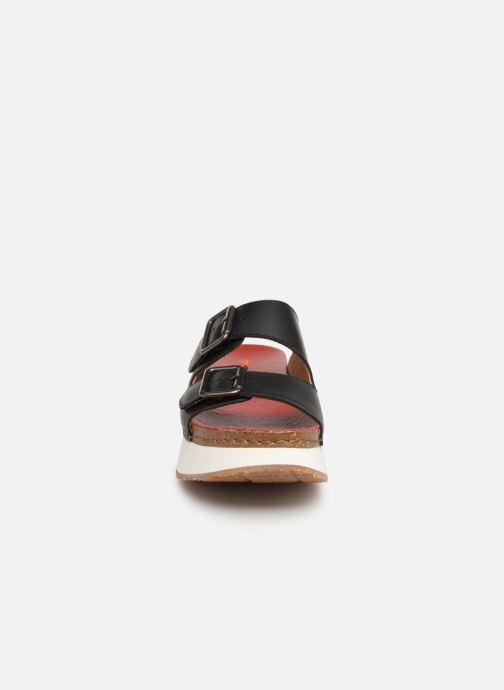 Mules et sabots Art Mykonos 1265 Noir vue portées chaussures