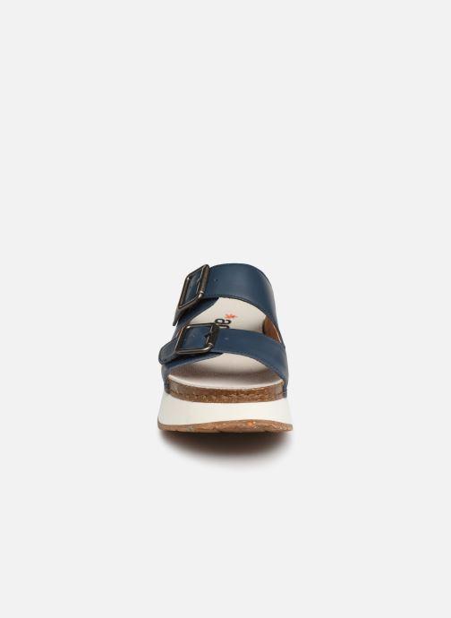 Mules et sabots Art Mykonos 1265 Bleu vue portées chaussures