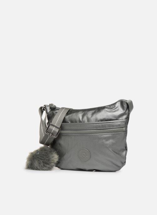 Handtaschen kipling Arto S silber schuhe getragen