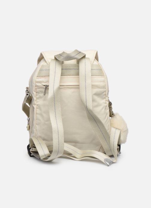 Mochilas Kipling Firefly up Blanco vista de frente