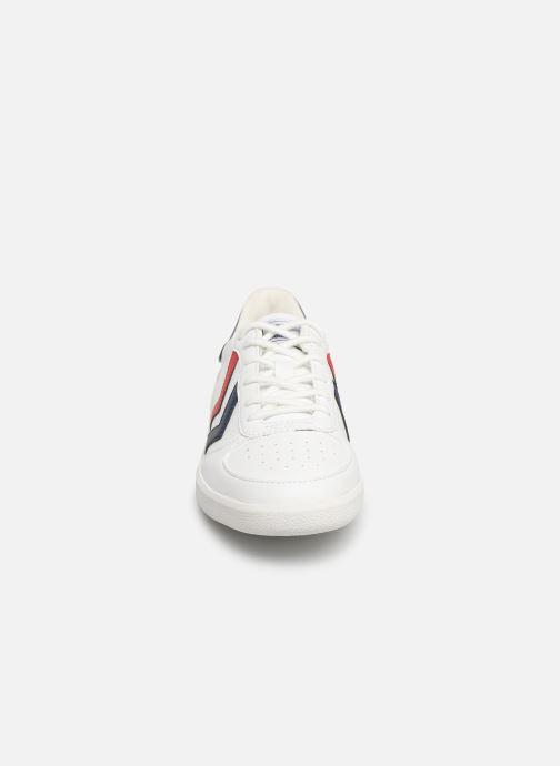 Baskets Hummel Victory JR Blanc vue portées chaussures