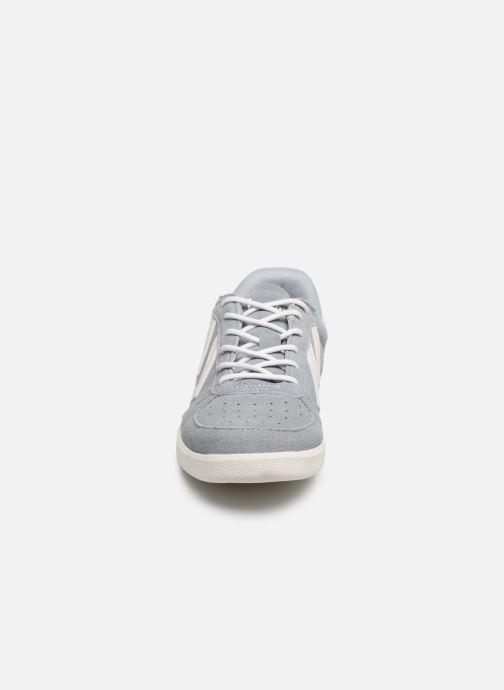 Baskets Hummel Victory JR Gris vue portées chaussures