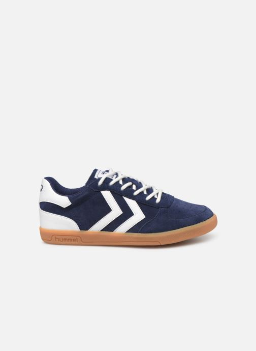 Sneakers Hummel VICTORY SUEDE JR Azzurro immagine posteriore