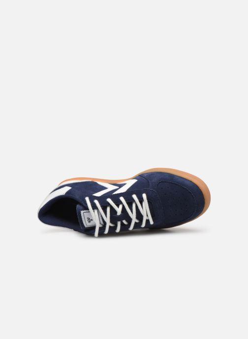 Sneakers Hummel VICTORY SUEDE JR Blauw links