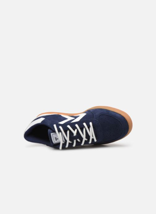Sneakers Hummel VICTORY SUEDE JR Azzurro immagine sinistra