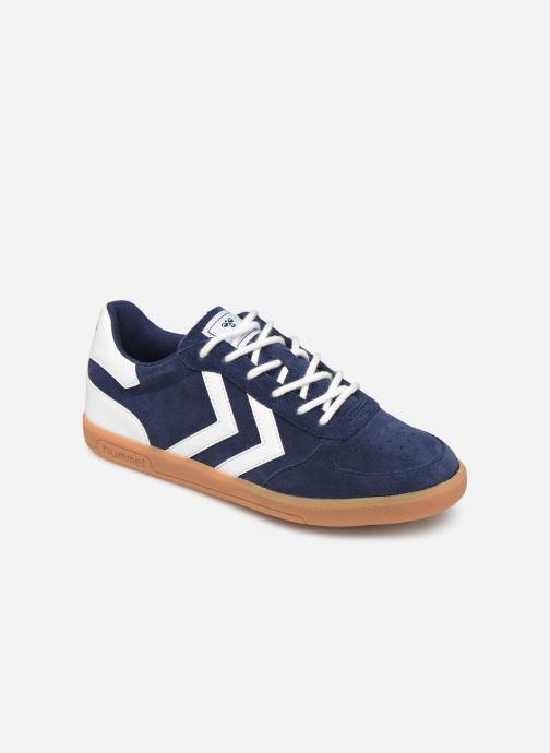Sneakers Hummel VICTORY SUEDE JR Blauw detail