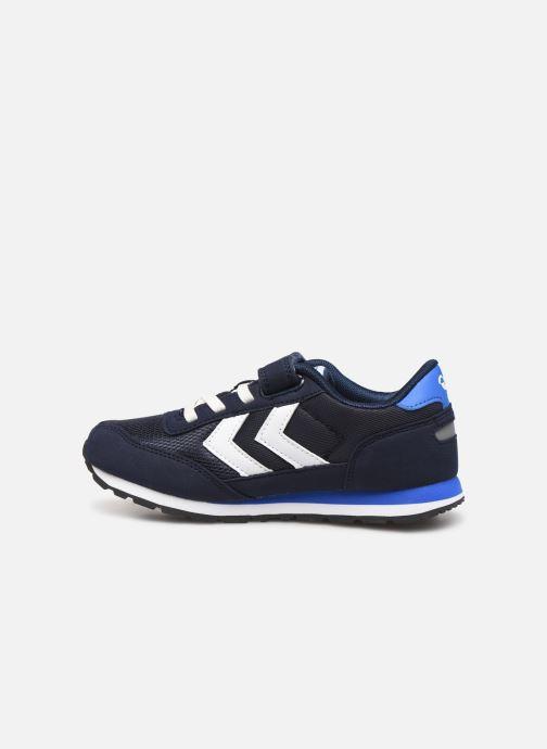Sneakers Hummel REFLEX JR Azzurro immagine frontale