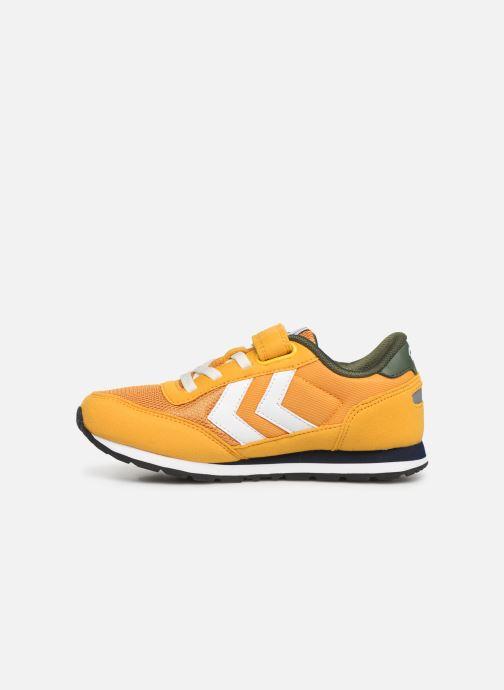 Sneakers Hummel REFLEX JR Geel voorkant