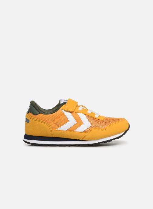 Sneakers Hummel REFLEX JR Geel achterkant