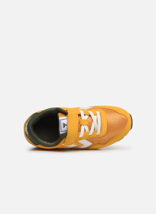 Sneakers Hummel REFLEX JR Giallo immagine sinistra