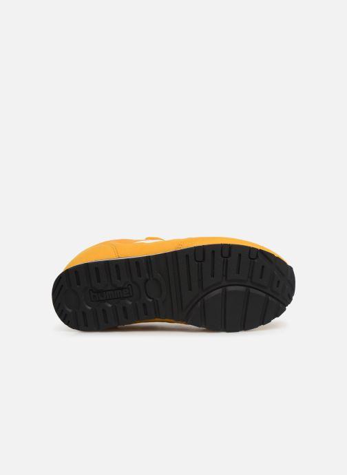 Sneakers Hummel REFLEX JR Geel boven