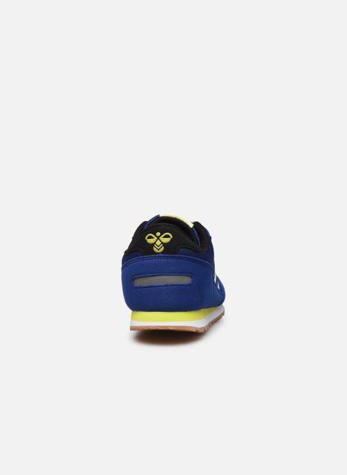 Baskets Hummel REFLEX JR Bleu vue droite