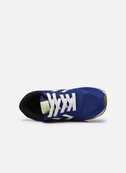 Baskets Hummel REFLEX JR Bleu vue gauche
