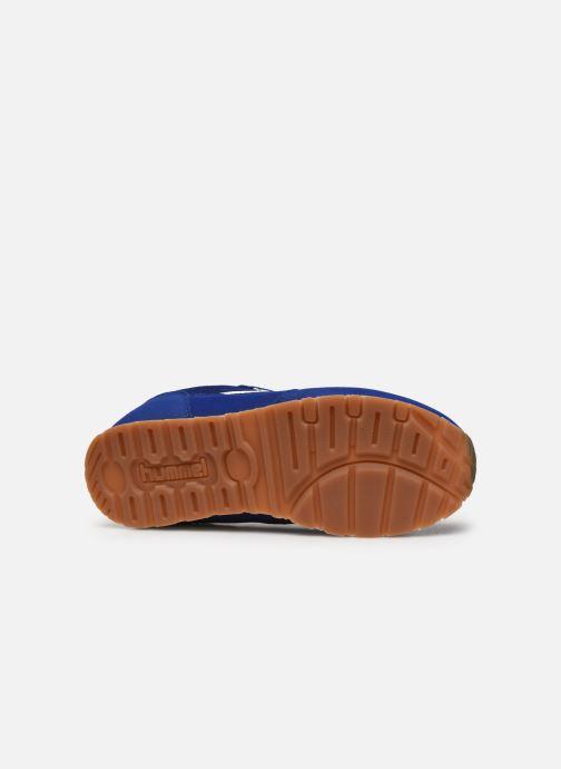 Baskets Hummel REFLEX JR Bleu vue haut