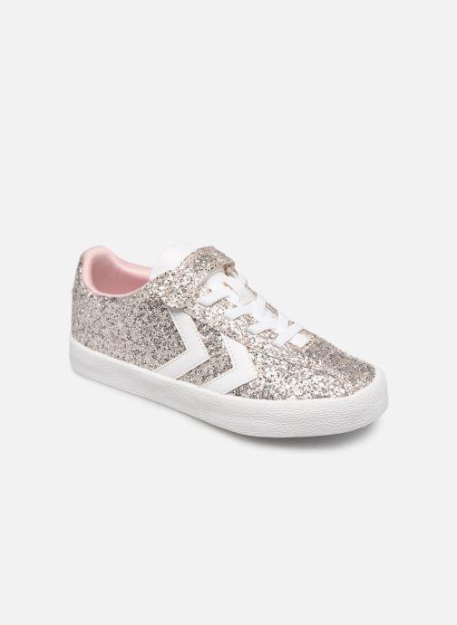 331b41d6341 Sneakers Hummel DIAMANT GLITTER JR Sølv detaljeret billede af skoene