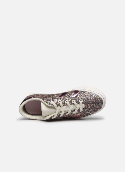Sneakers Hummel DIAMANT GLITTER JR Rosa immagine sinistra